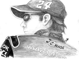 Jeff Gordon by Kaze-Chan