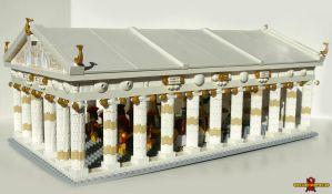 LEGO Temple of Athena 2 by Saber-Scorpion