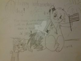 happy independence day! by Delta-kitty