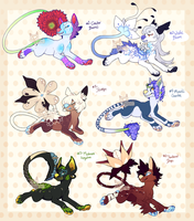 ::Collab Auction:: Flower Critters (CLOSED) by PhloxeButt