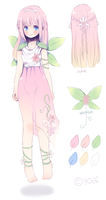 Flower Elf Princess Adopt [CLOSED] by Yoai