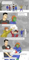 Young Justice Mimicomic by chibineechan