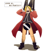 NO PANTS, animedeviants entry by palmereap