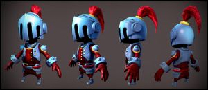 Small Knight Low Poly by spybg