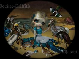 Alice and the Audubon Birds by jasminetoad