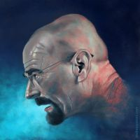 Walter White by andreaaustoni