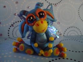 polymer clay wild thing cosmo by crazylittlecritters