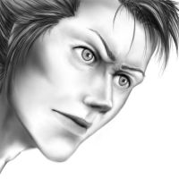 Semi-realistic Grimmjow guys omg boobs penis by Katakanion