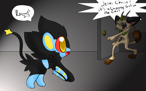 CE: IT'S A LUXRAY by chibitracy