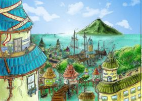 The Port by AndreaOfTheLand