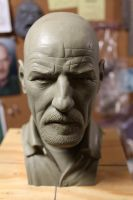 Heisenberg bust by CG-imagery
