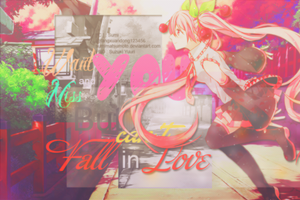 [ Wallpaper #2 ] Never Stop Love You by SumiMatsumoto