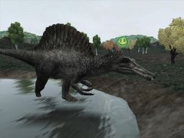 Spinosaurus by Simba for ZT2 by DeinonychusRex