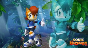 Sonic Boom Sally Wallpaper by Silverdahedgehog06