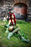 Poison Ivy - steampunk version cosplay by Daisy-Cos