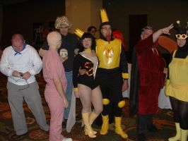 The Venture Brothers Group by WereDragonMan