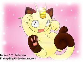 Playful Meowth by Frankyding90