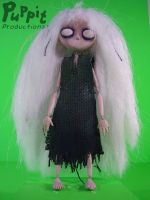 Saartje - a stop-motion animation puppet by PuppitProductions