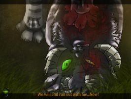 The past of Furry-Chapter II:We will end run... by danituco