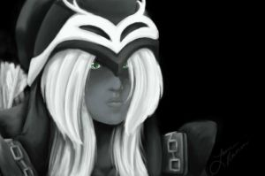 LoL: Ashe by Rahnaix
