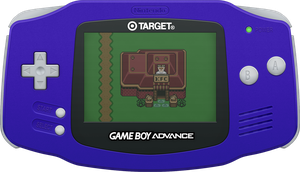 Nintendo Game Boy Advance [TARGET] Grape by BLUEamnesiac