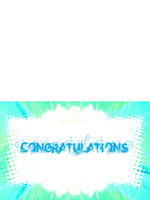 Congratulations Card 2 by lcstolz
