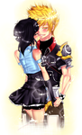 P.Commish : Ino and Ventus by NaruSparkles