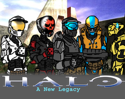 HALO: A New Legacy Cover by BillyBCreationz