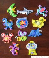 More Perler Stuff by berlynnwohl