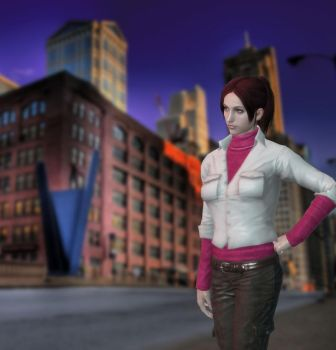 Claire Resident Evil Degeneration by ItalianUtent