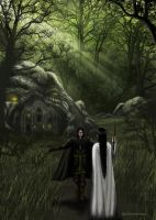 Welcome to Nan - Elmoth - Eol and Aredhel by Noldomirwen