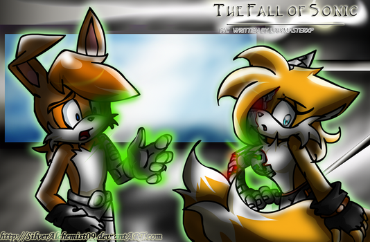 TFOS-GenderB- Tails and Bunny by SilverAlchemist09