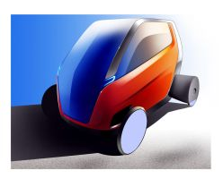 vehicle for disabled people by SkipeRcze