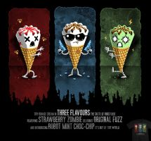 Three Flavours Trilogy - tee by InfinityWave