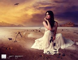 Waiting u forever by queenphotoshop