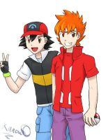 Ash and Ed? by poplarleaves