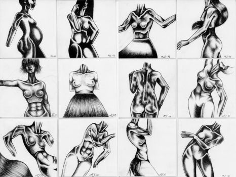 Body Collection by skogstrollet95