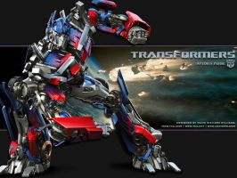 Transformers: Optimus Prime by david-rw