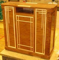 Art Deco entertainment center by TheElysian