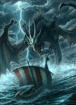 Coming of Dragons Cover by kerembeyit