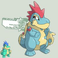 Croconaw the hero now by G-FauxPokemon