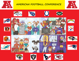 NFL Project 2013 AFC by WindyCityPuma