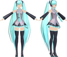 [Hatsune Miku] Native Style Preview by Jomomonogm