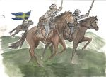 Swedish Cavalry Charge by PolishTrooper