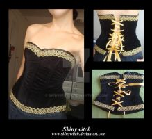 Velvet Corset by skinywitch