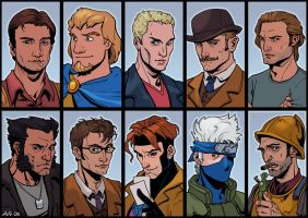 Guess my favorite characters by ChateNoire