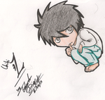 Death Note Chibi L by rayboy55
