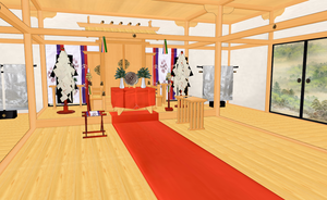 MMD Japan style room REMASTER by amiamy111