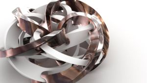 Wings 3d 16:12 torus knot strip tut by davidbrinnen