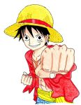 Luffy by Claybirdies